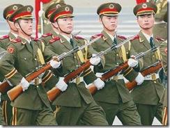 chinese army parade