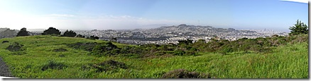 San Bruno Mountain view