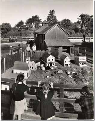 1948 rabbitville childens' playground